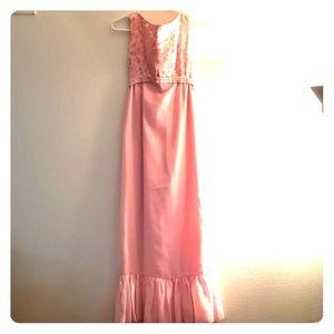 Homemade Vintage Bridesmaid Dress